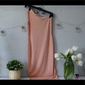 Pink/Nude Midi Dress🥳